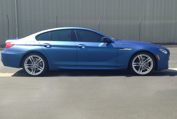 BMW 650i Paint Wrap