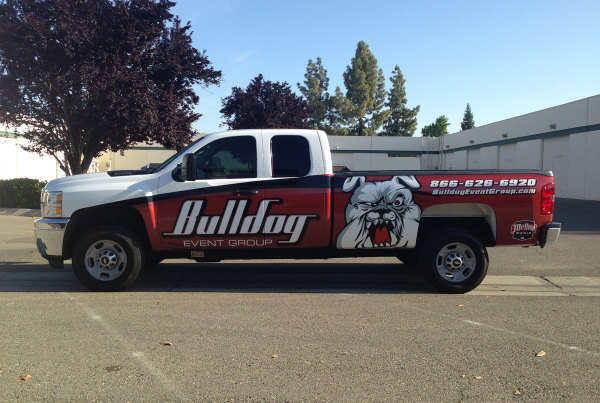 Billdog Entertainment Truck Wrap